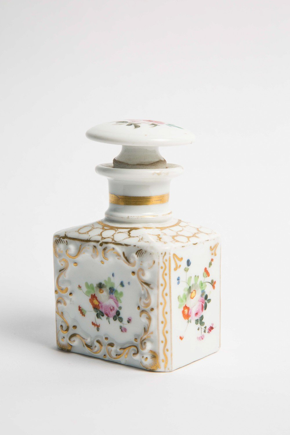 French Painted Bottle