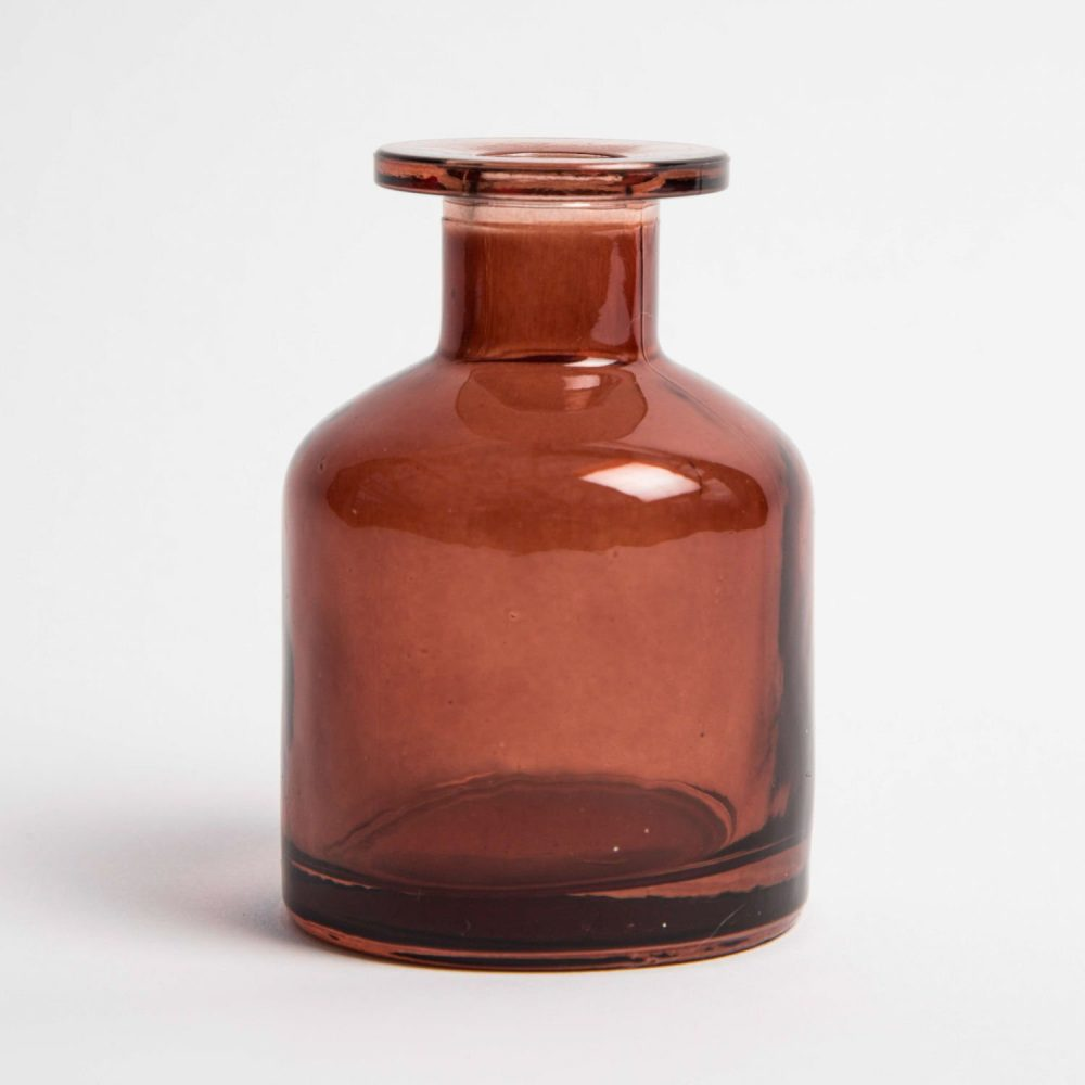 Vintage & Bespoke Ltd. - Amber Glass Diffuser Bottle