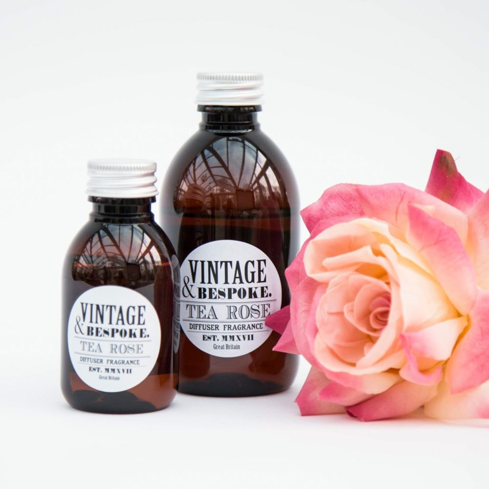 Vintage & Bespoke Ltd. - Tea Rose Diffuser Fragrance
