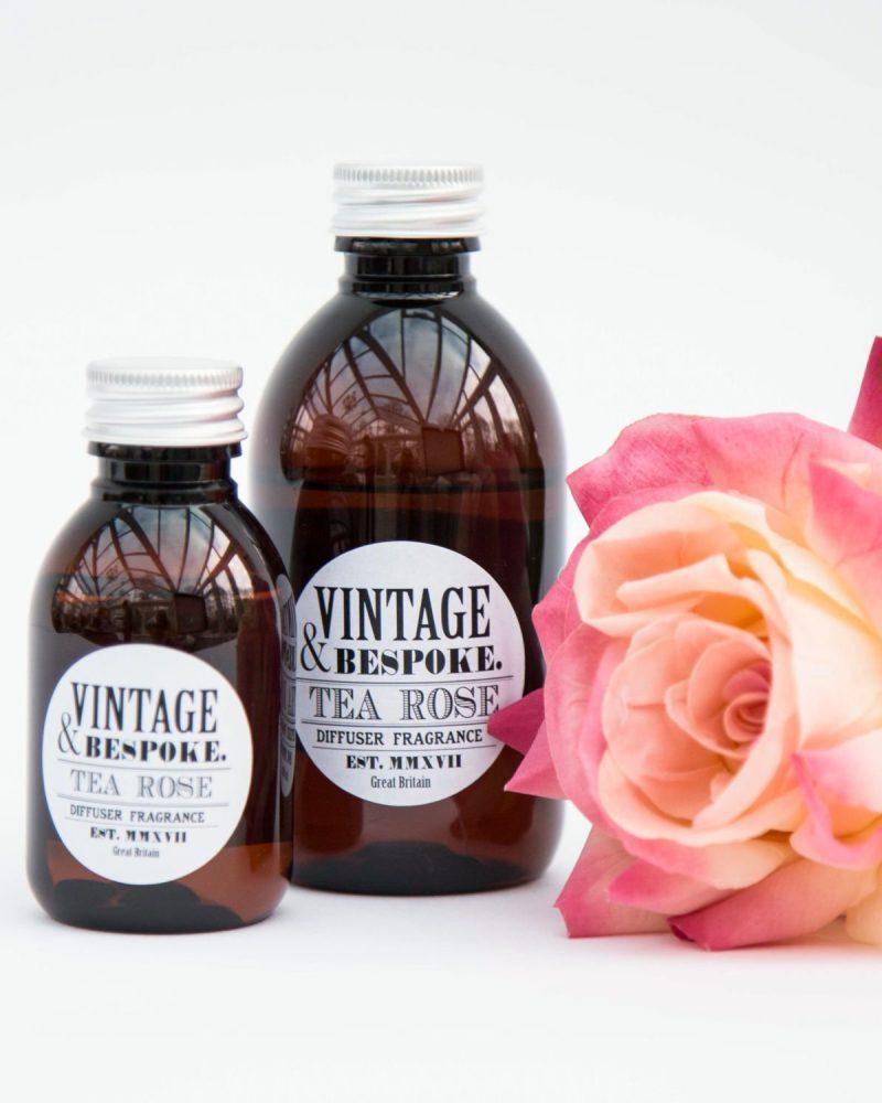 Vintage & Bespoke Ltd. - Tea Rose Diffuser Fragrance