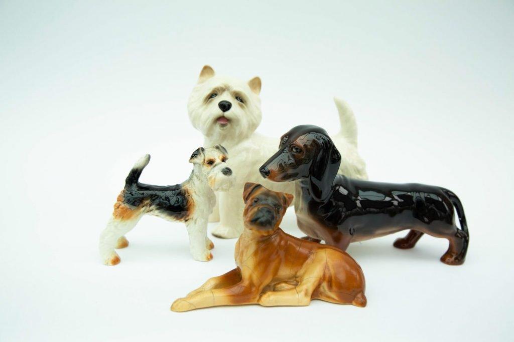 Vintage & Bespoke Ltd. - Vintage China - Porcelain Dogs