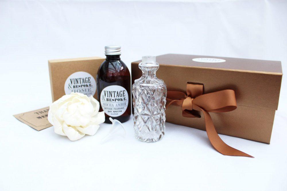 Large Vintage Bottle Gift set from Vintage & Bespoke Ltd.