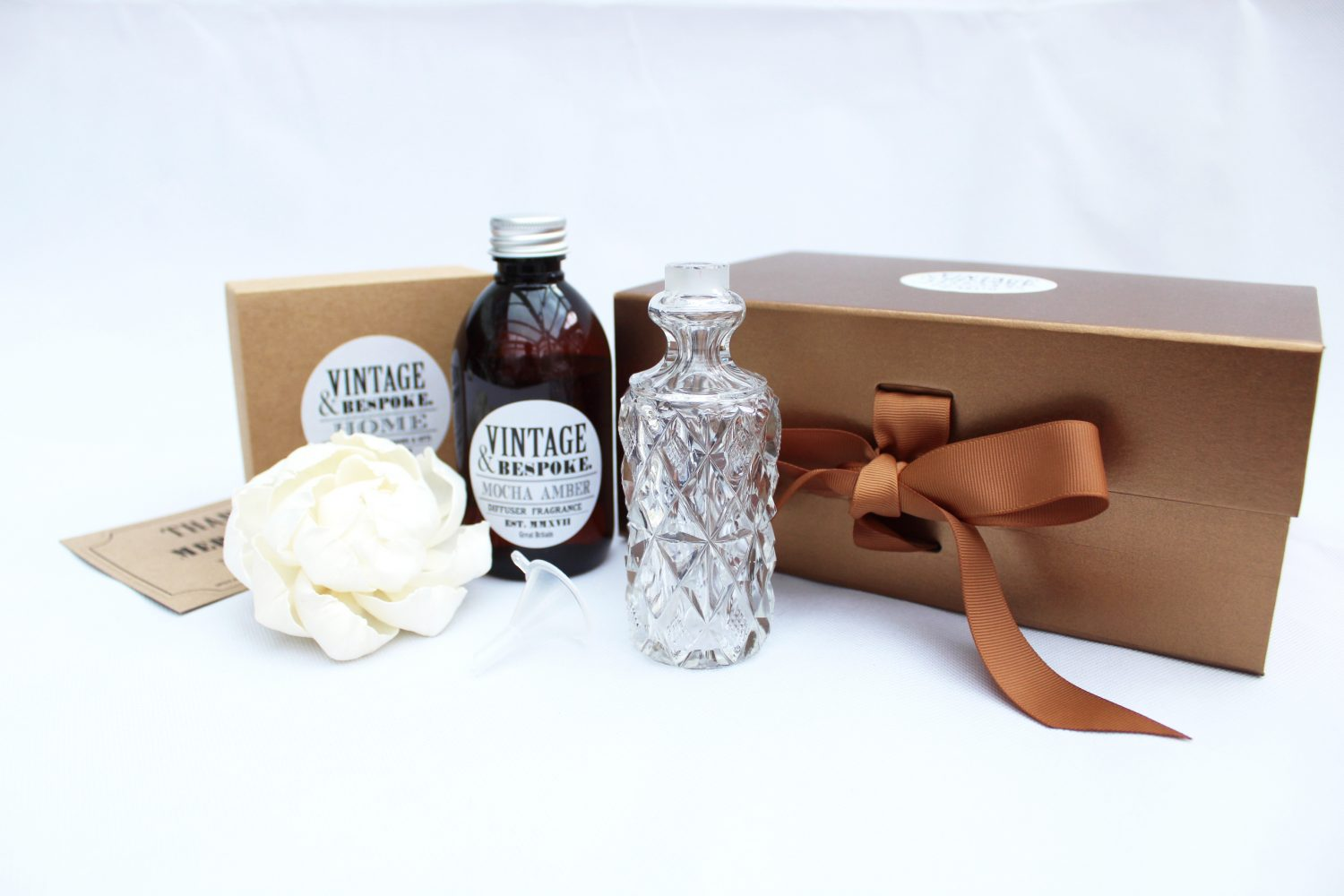Large Vintage Bottle Gift set from Vintage & Bespoke Ltd.