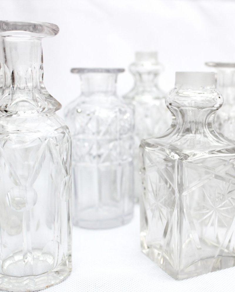 Vintage Cut glass Diffuser bottle from Vintage & Bespoke Ltd