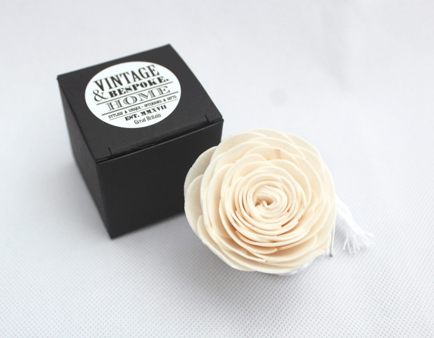 Small rose diffuser flower from Vintage & Bespoke Ltd