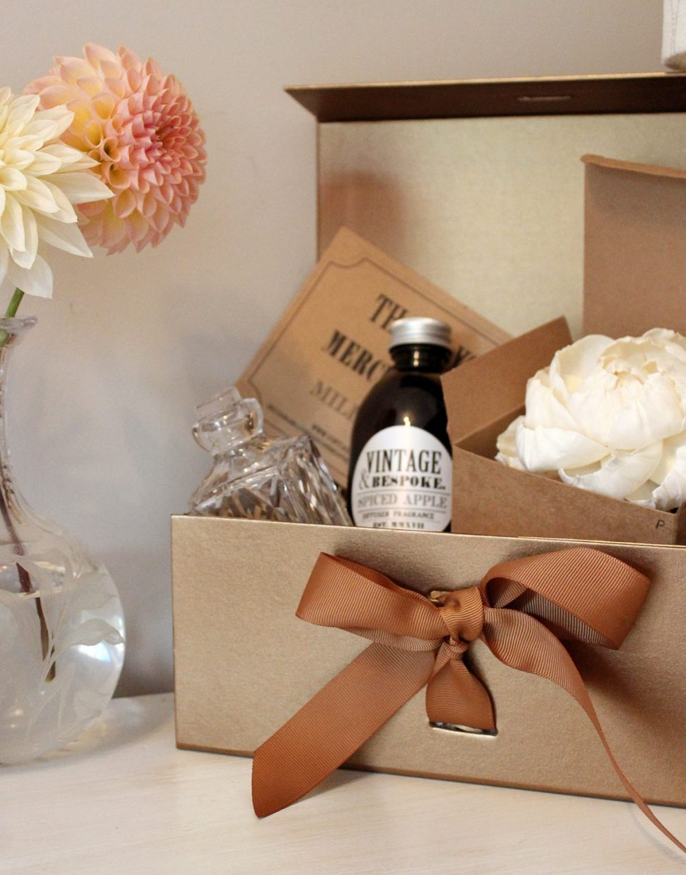diffuser gift box from Vintage & Bespoke Ltd.
