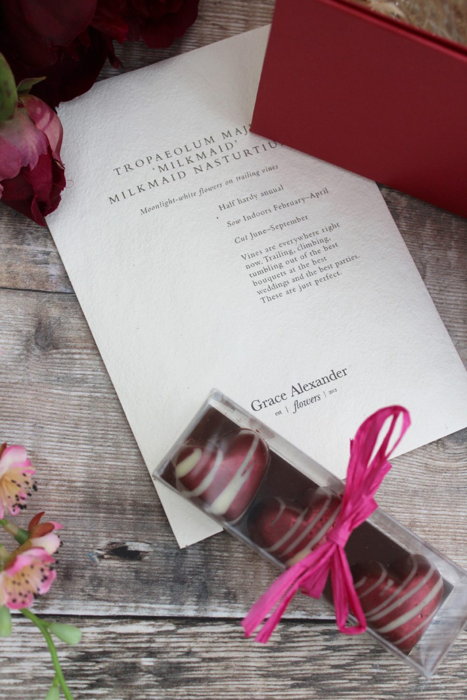 Valentine gift box extras