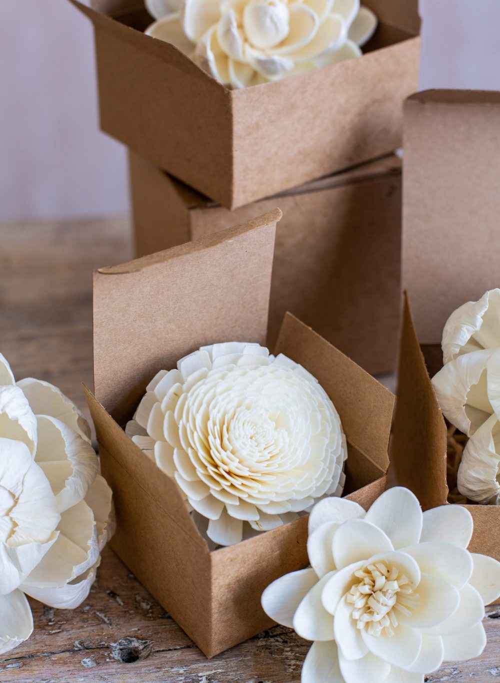 Boxed Diffuser Flowers from Vintage and Bespoke