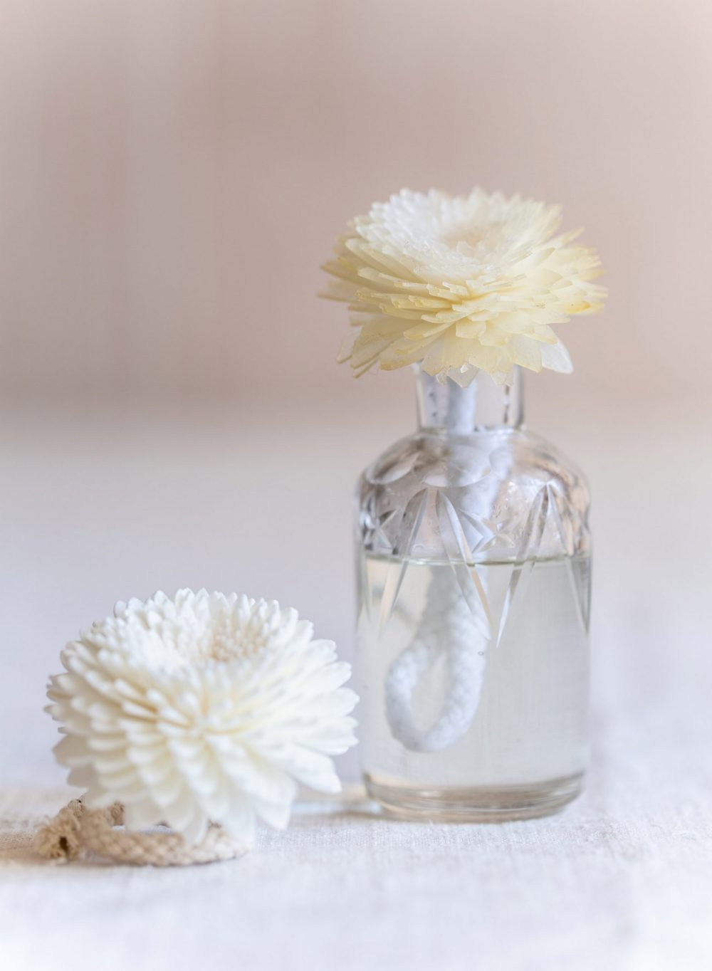 Mini Flower Diffuser with Vintage Bottle