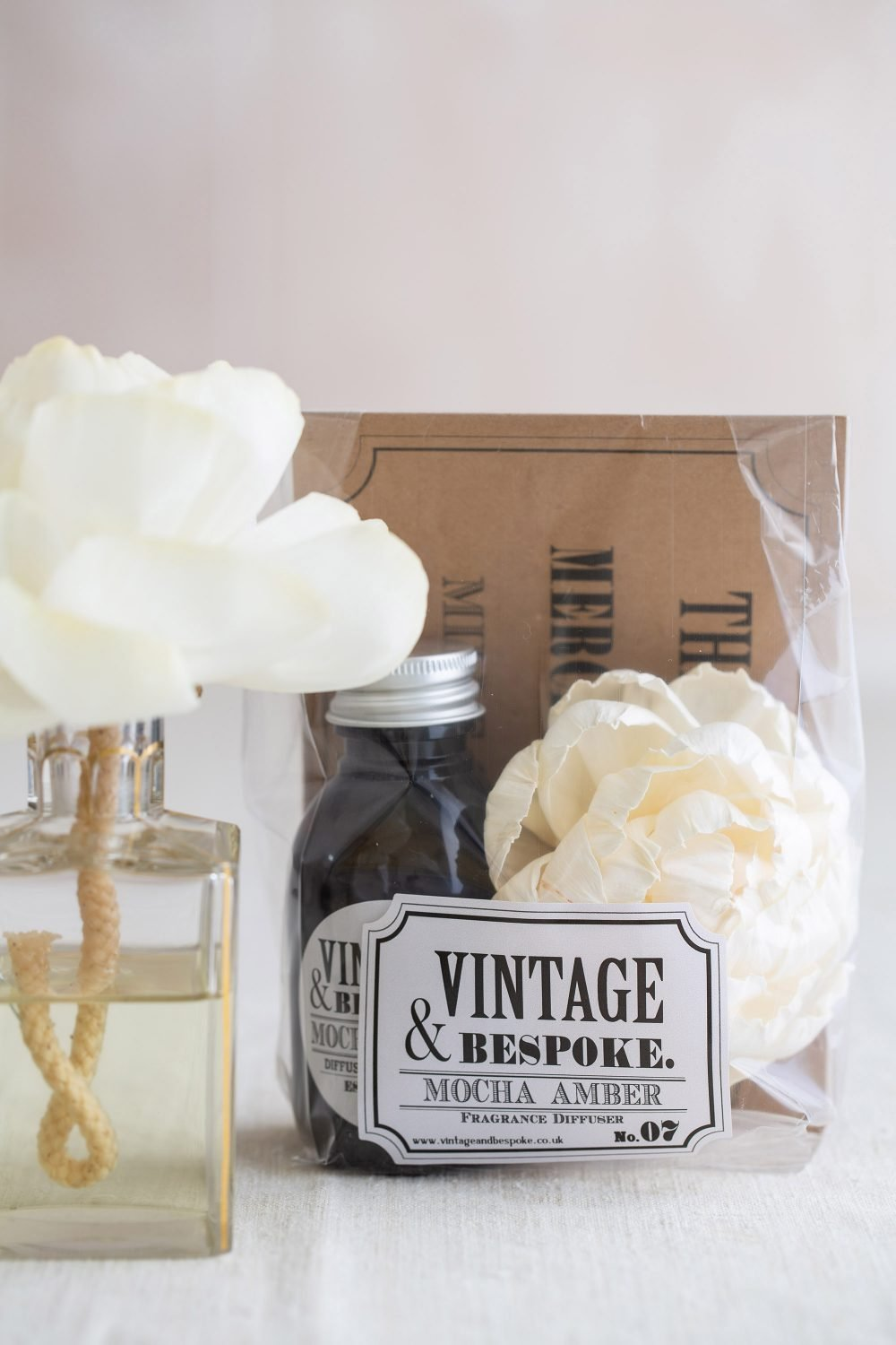 Diffuser Flower and Fragrance Set from Vintage and Bespoke