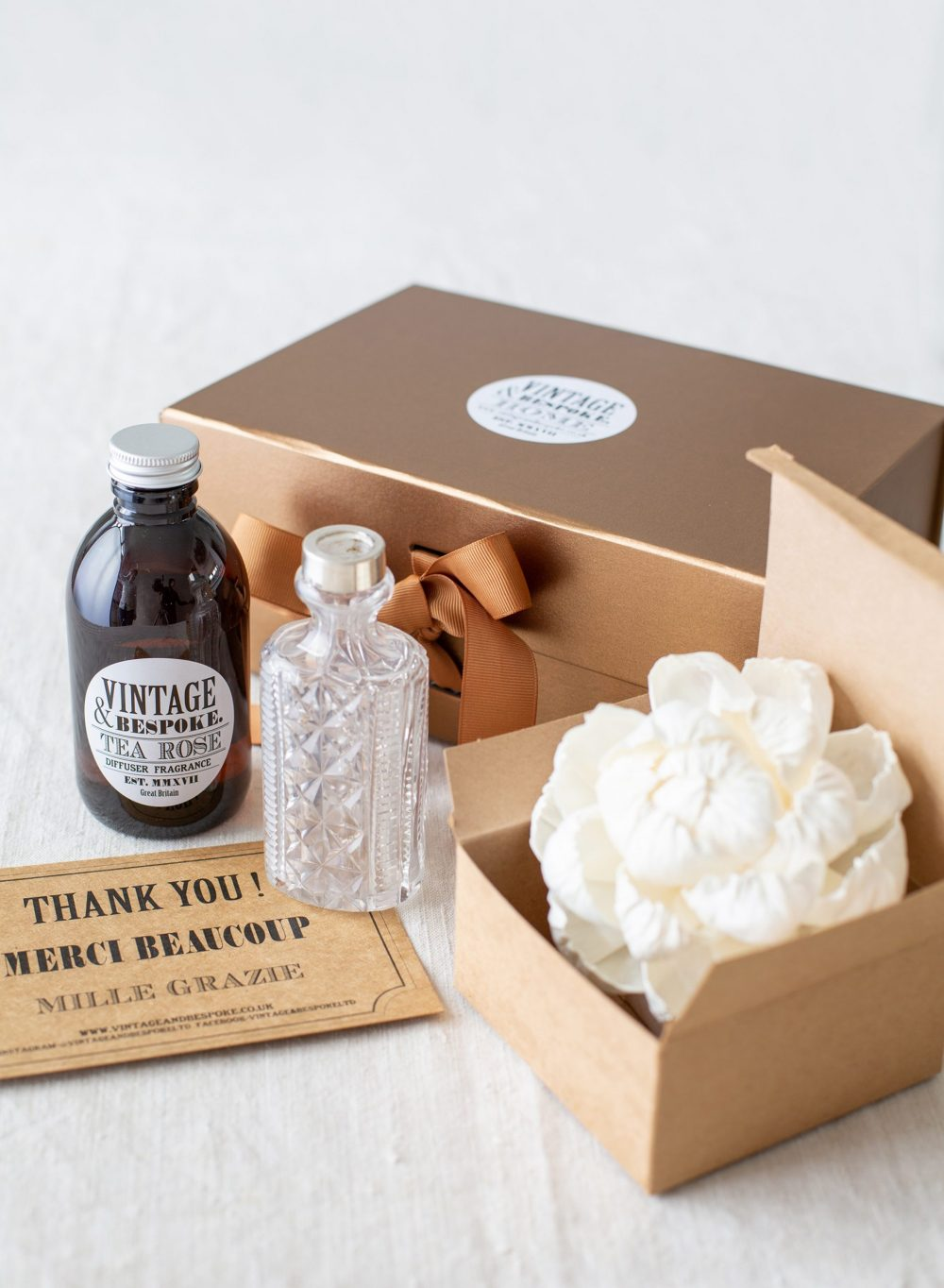 Ultimate Flower Diffuser Gift Box from Vintage and Bespoke