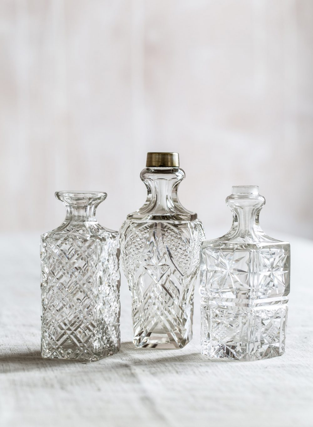 collectors bottles square