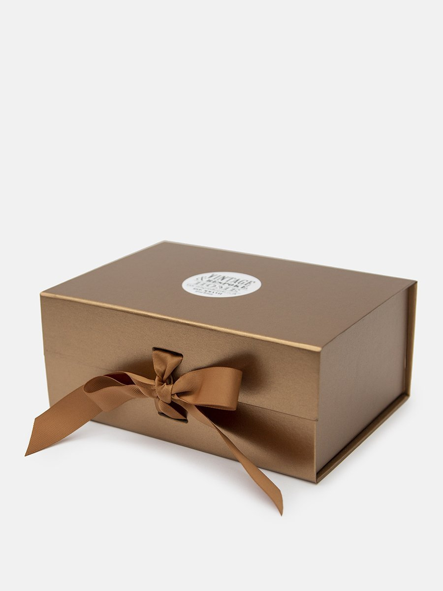 Luxury copper gift box from Vintage and Bespoke LTd