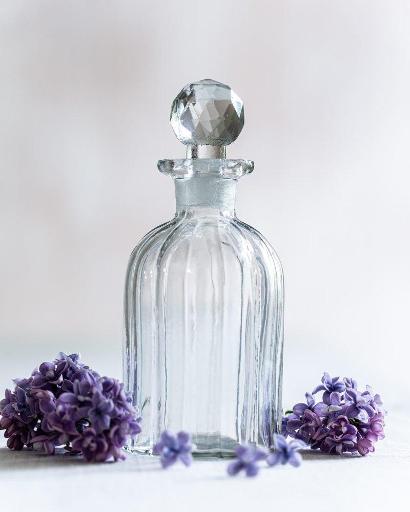 Fluted Vintage Style Bottle
