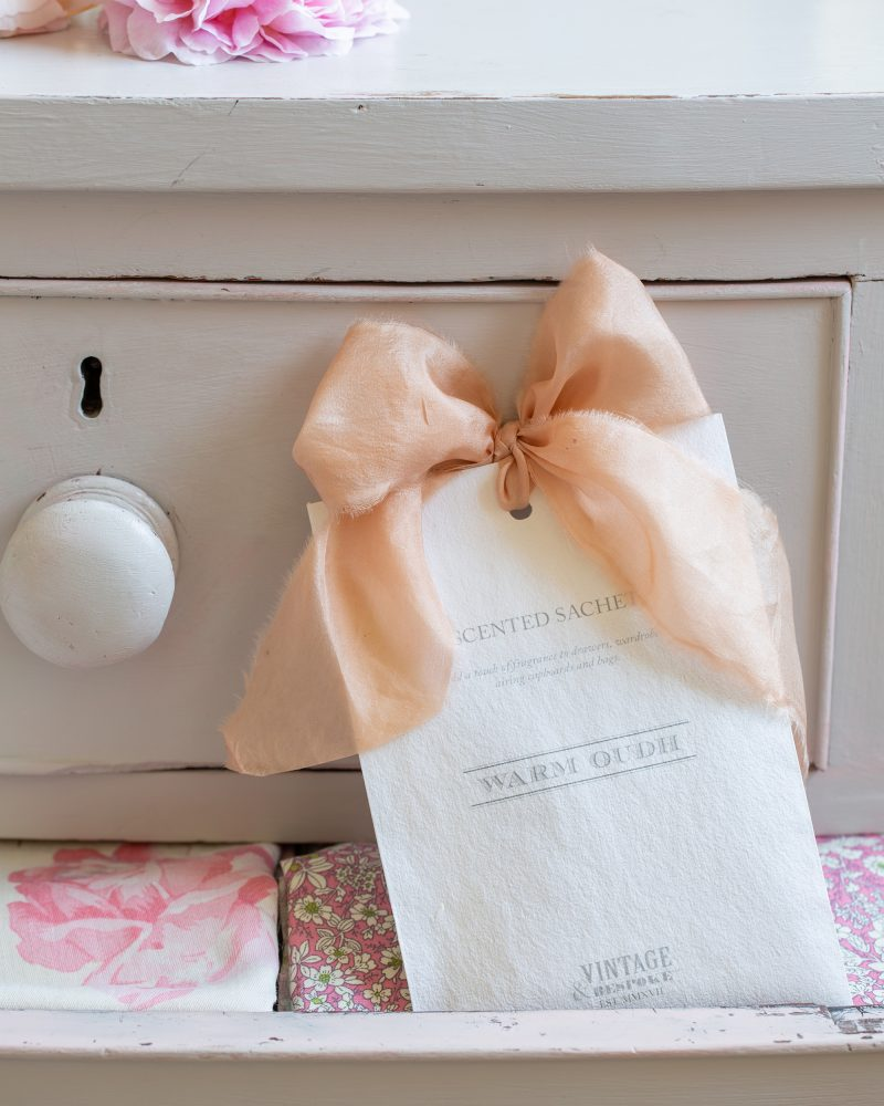 Luxury Scented Drawer Sachet from Vintage and Bespoke
