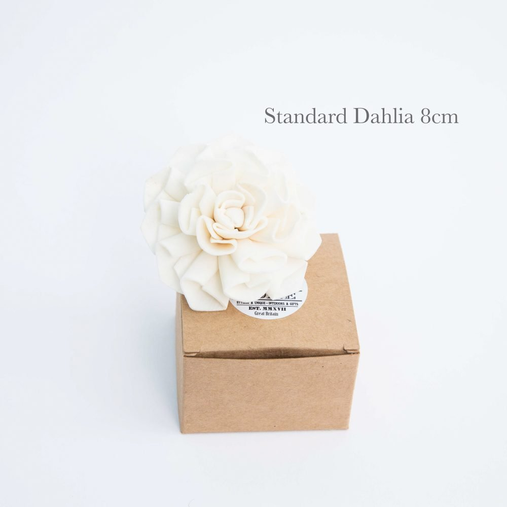 Dahlia Diffuser Flower with wick from Vintage and Bespoke