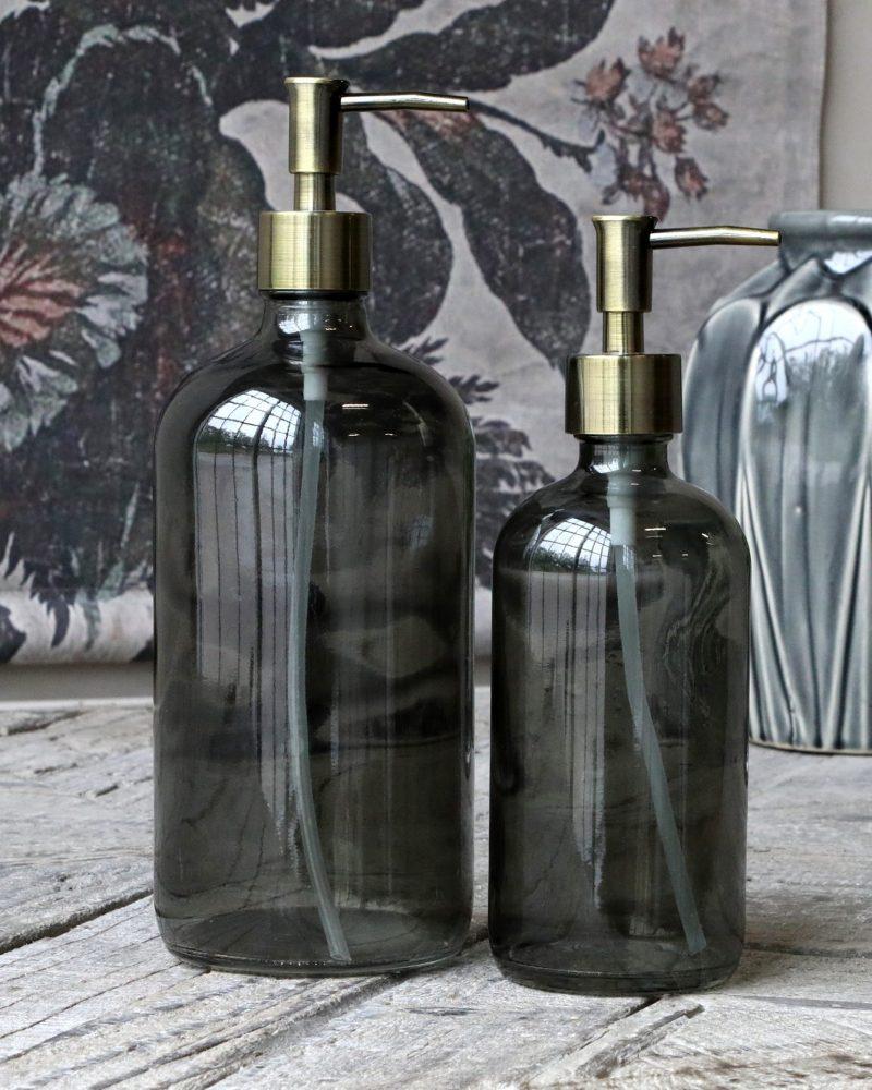 glass dispenser bottle