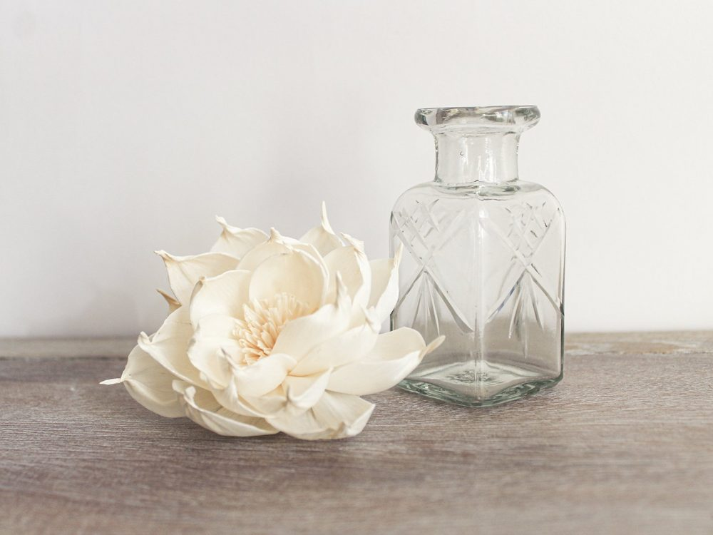 Square Vintage Style Diffuser Bottle