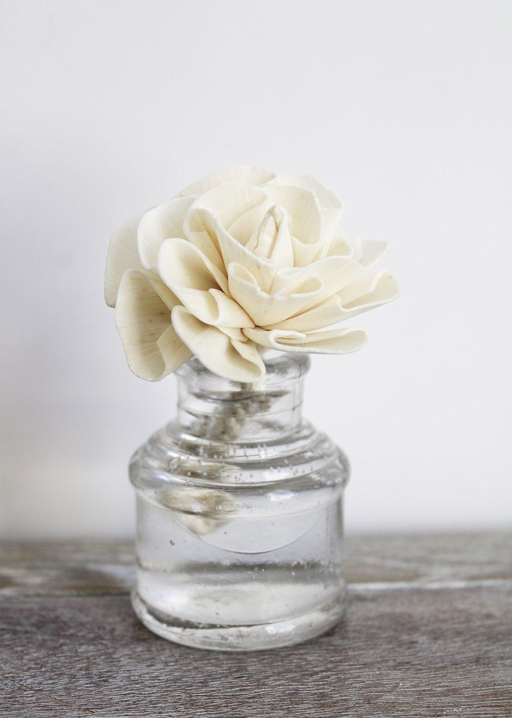 mini sola diffuser flower