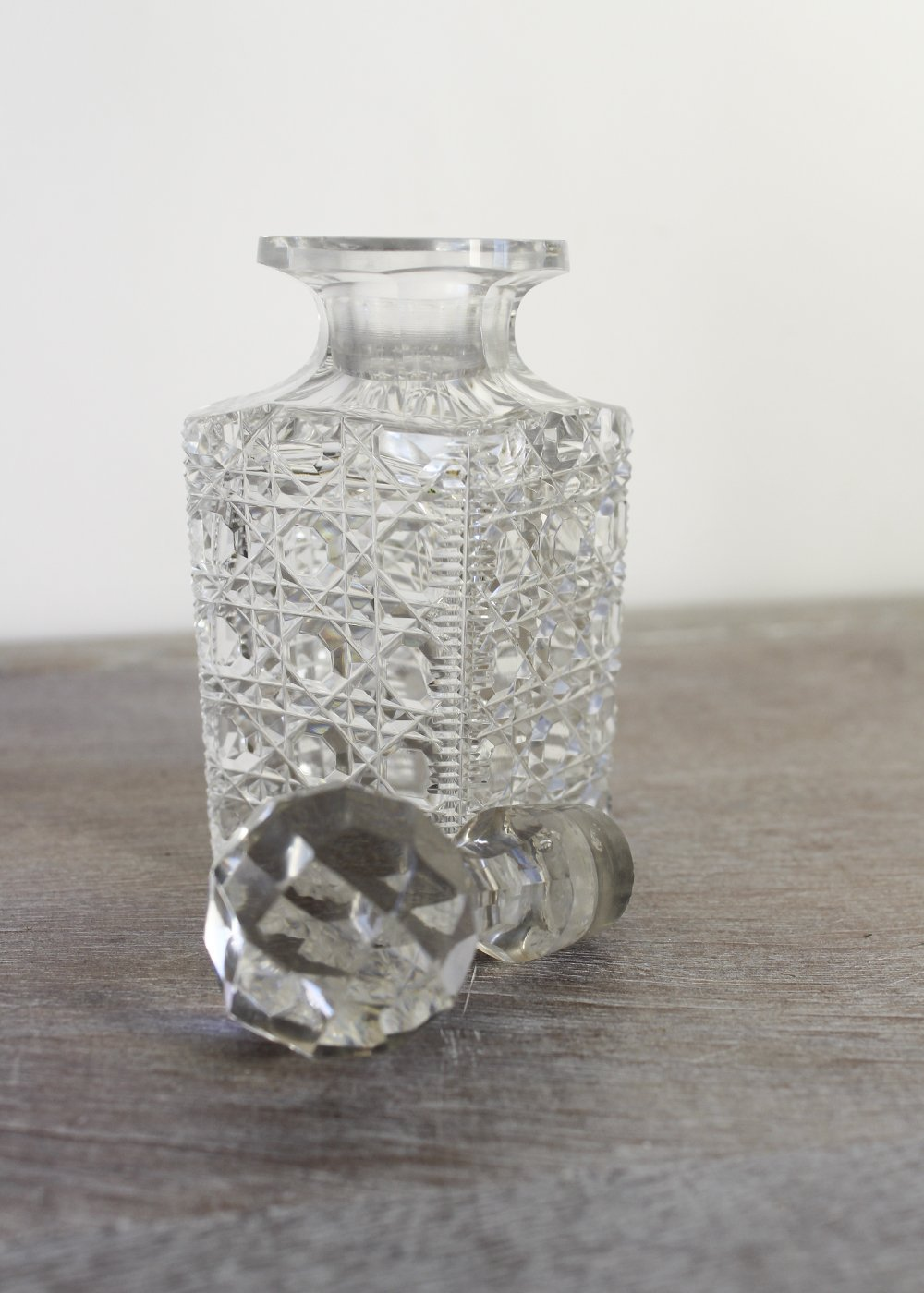 cut glass perfume bottle from Vintage and Bespoke