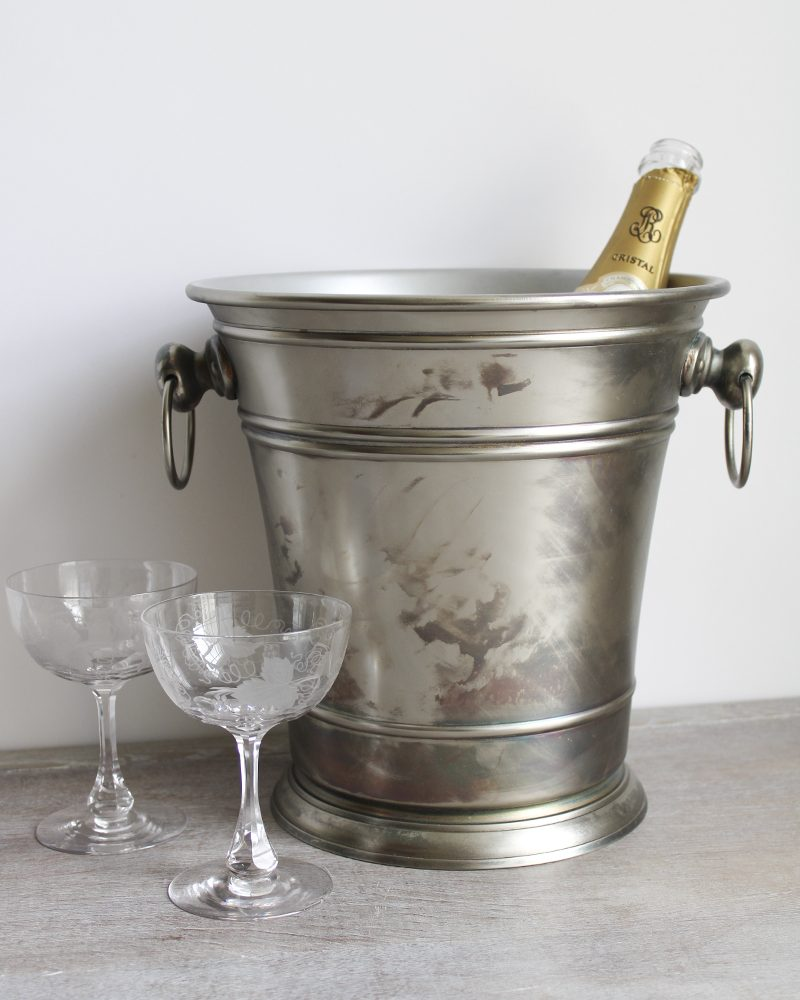 antique style wine cooler