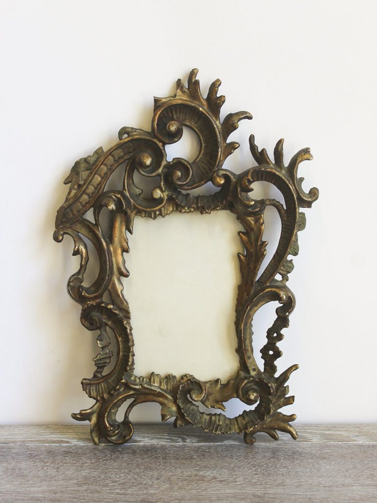 Antique gilt photo frame