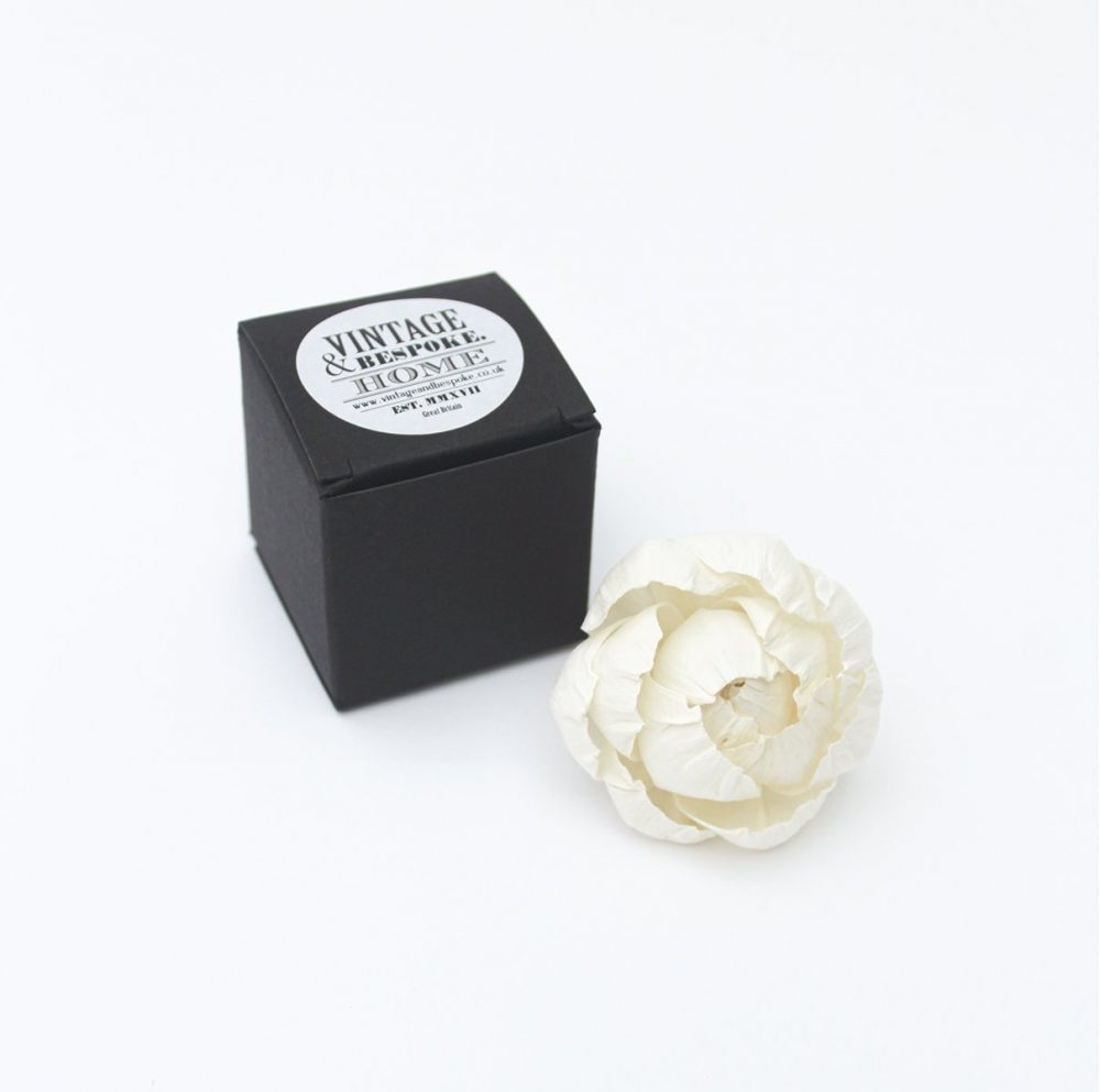 Mini 5cm Peony Diffuser Flower from Vintage and Bespoke Ltd
