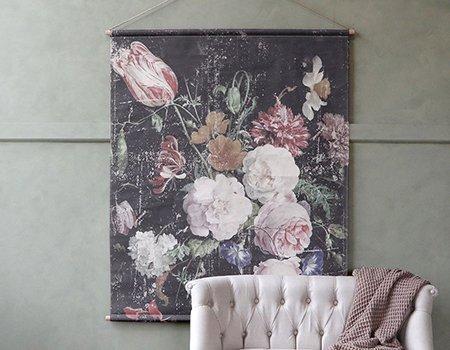 bouquet canvas large pic