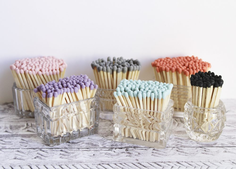 coloured matches