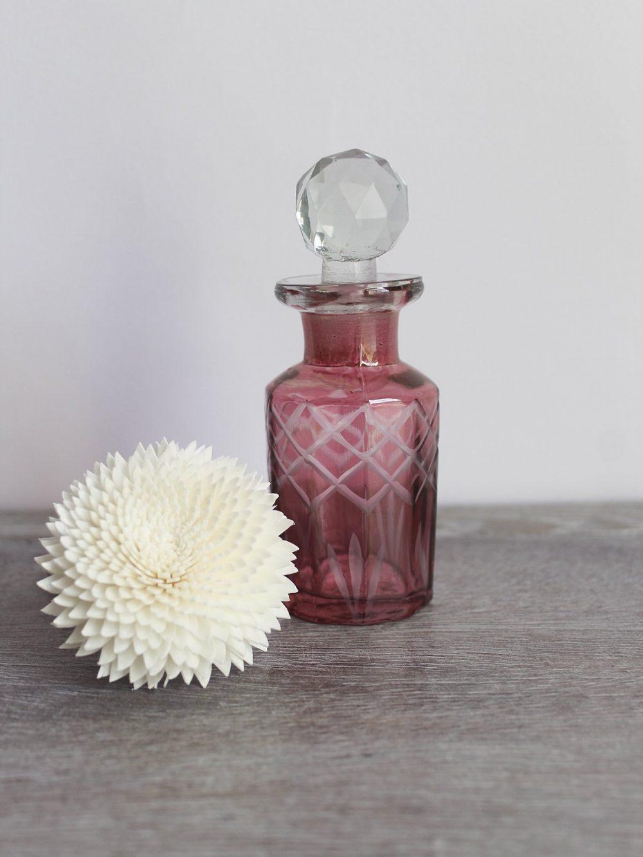mini pink diffuser bottle