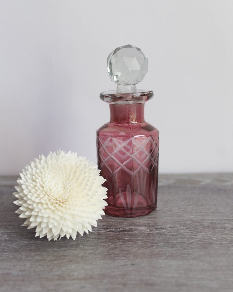 mini pink diffuser bottle