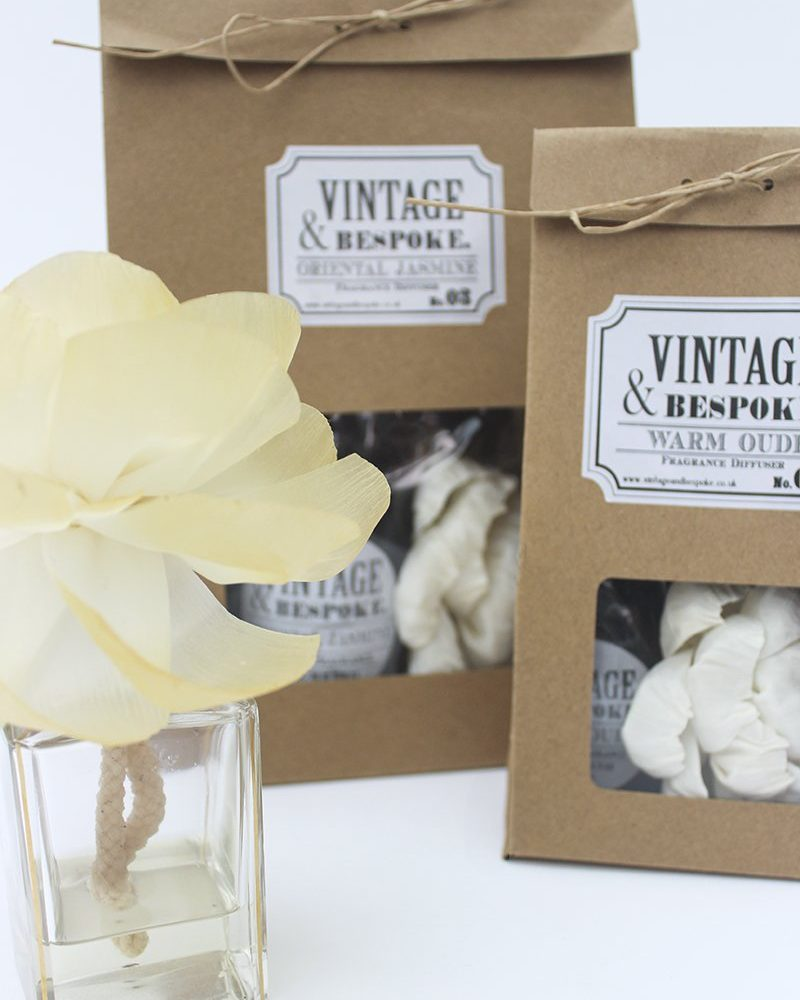 Diffuser Flower and Fragrance Pack from vintage and bespoke ltd