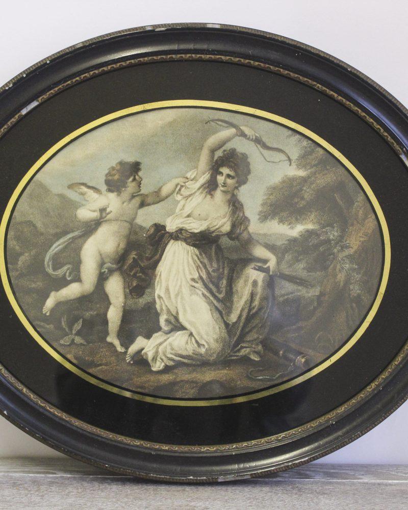 Cupid disarmed by Euphrosine