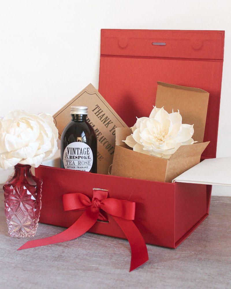 Cranberry Vintage diffuser Gift Set