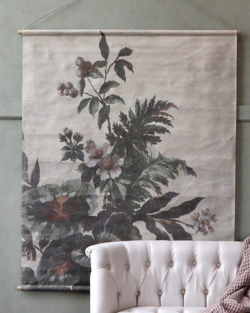 large vintage style wall hanging