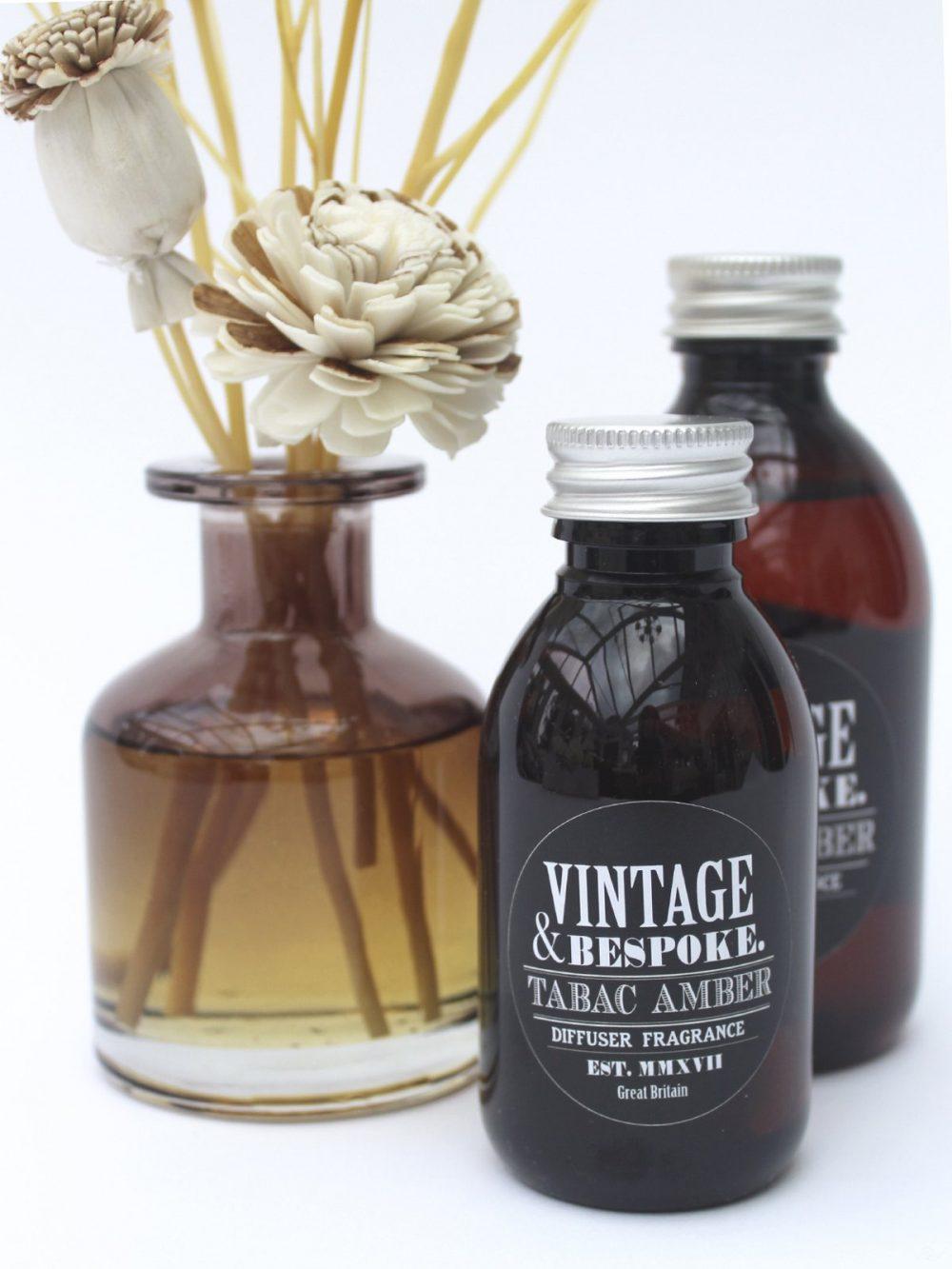 Genderless universal room fragrance Tabac Amber from Vintage and bespoke ltd