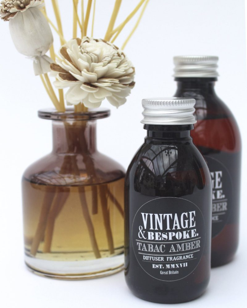 Tabac Amber Genderless universal room fragrance Tabac Amber from Vintage and bespoke ltd